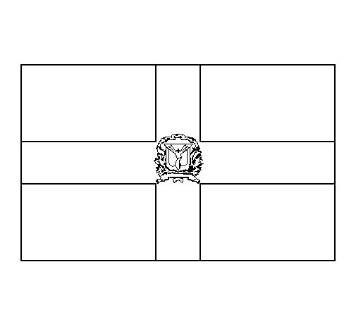 dominican republic flag coloring page auspicious flags colouring nations cambodia ethiopia flag republic dominican coloring page