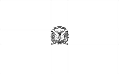 dominican republic flag coloring page coloring page for the flag of dominican republic dominican page republic coloring flag