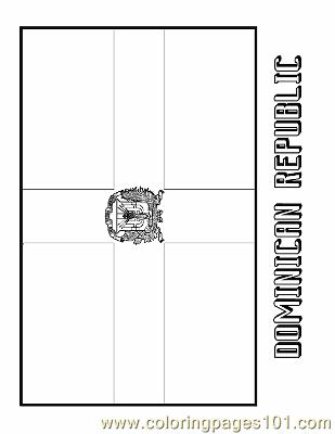 dominican republic flag coloring page dominican republic coloring page free flags coloring coloring page dominican flag republic