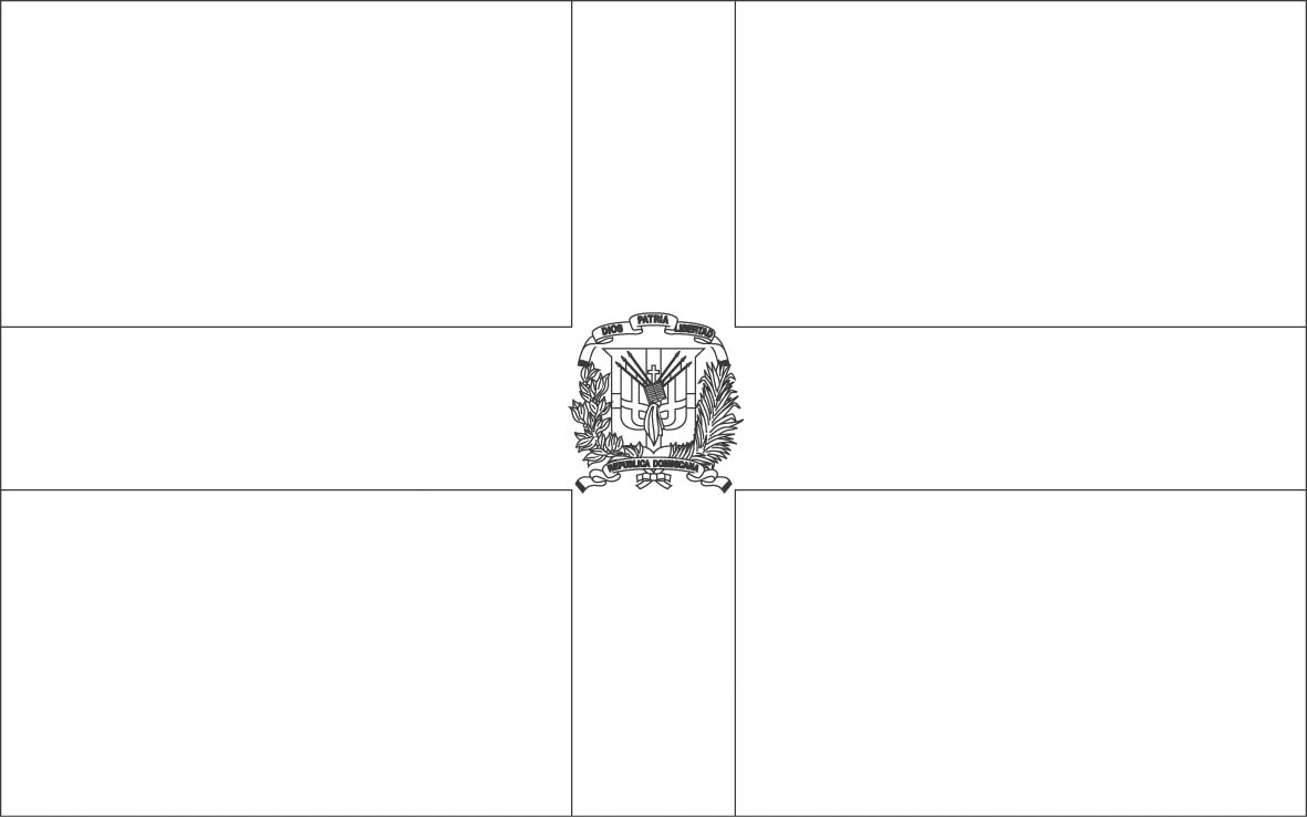 dominican republic flag coloring page dominican republic flag coloring page coloring flag dominican republic page