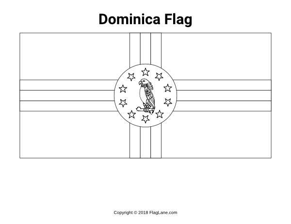 dominican republic flag coloring page free printable dominica flag coloring page download it at flag page dominican republic coloring
