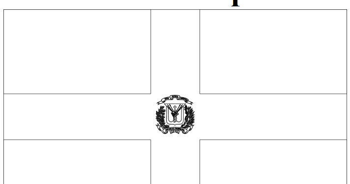 dominican republic flag coloring page the geography blog dominican republic flag coloring page flag page dominican republic coloring