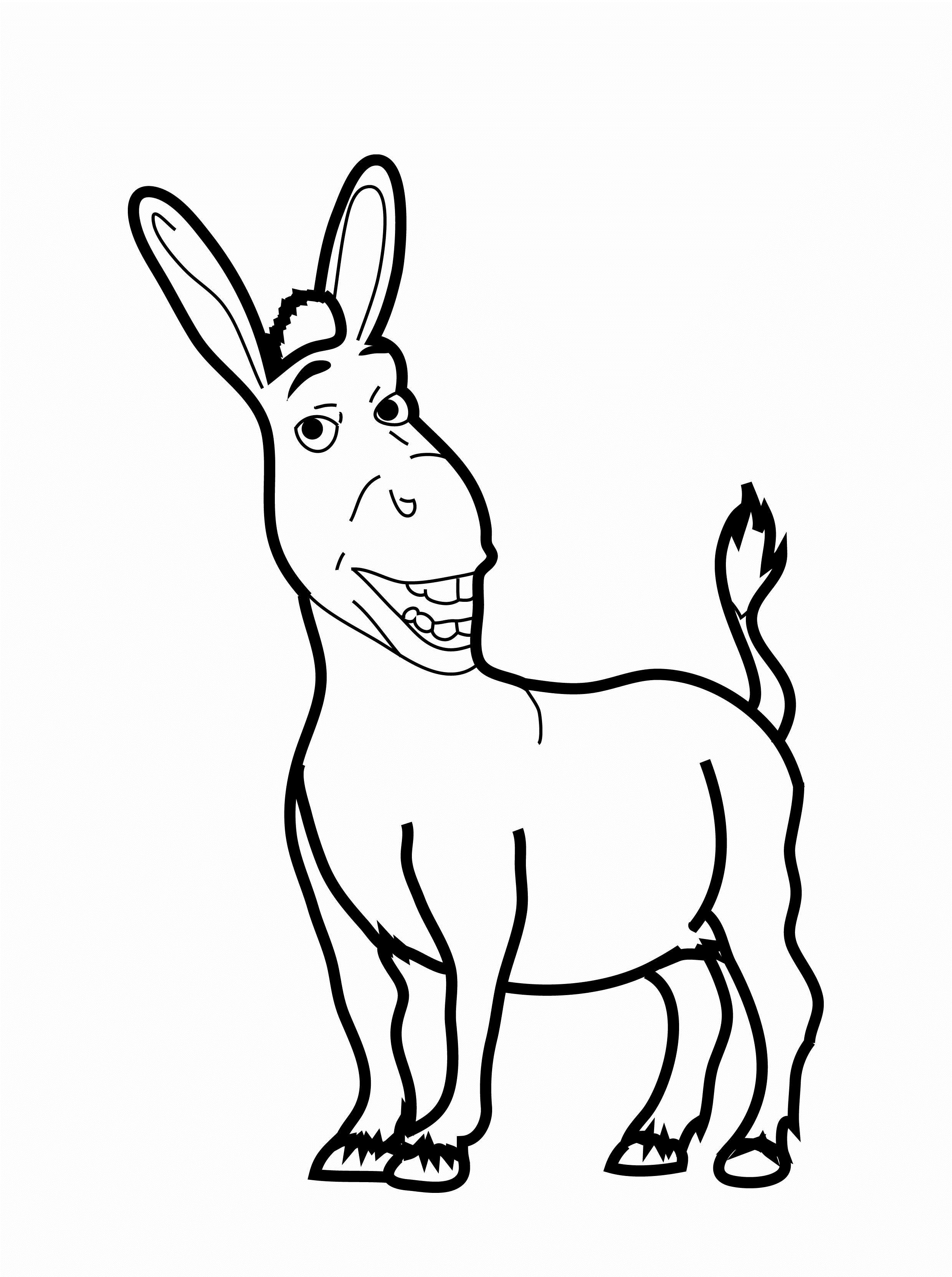 donkey pictures to print free printable donkey coloring pages tripafethna to donkey pictures print