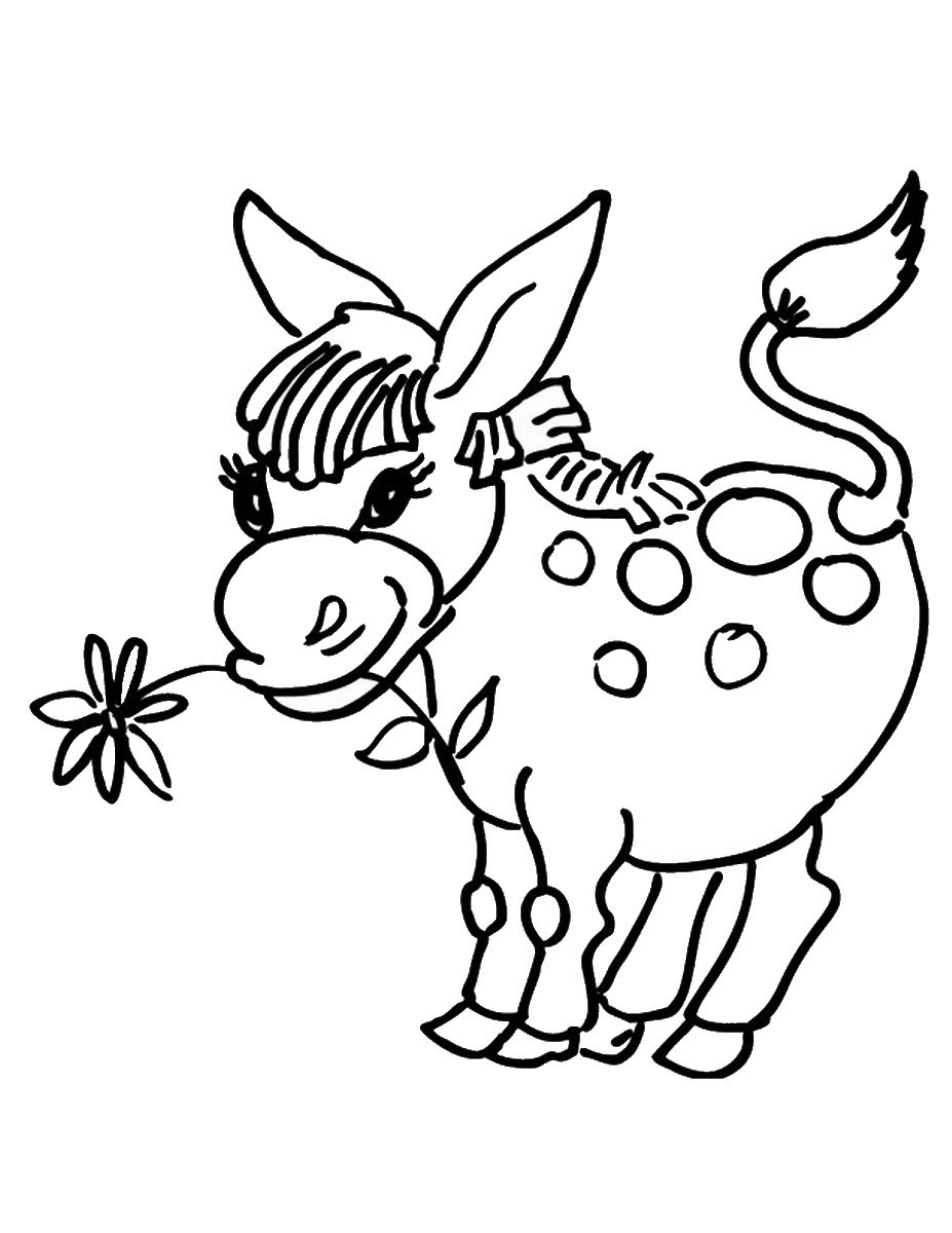 donkey pictures to print free realistic animal coloring pages realistic animal donkey print pictures to