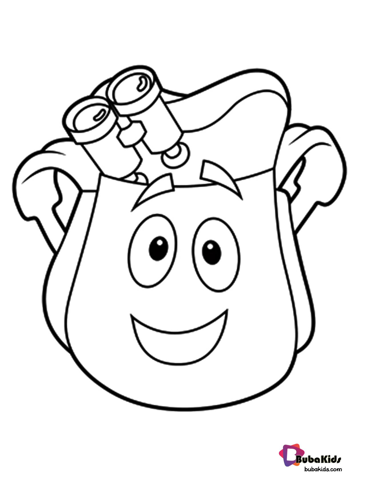 dora backpack coloring page coloring backpack and map picture dora backpack page coloring