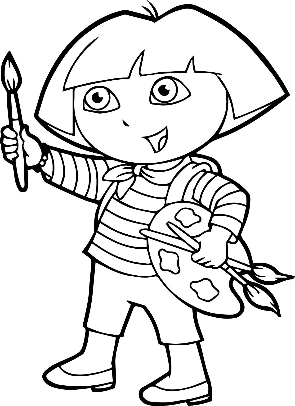 dora painting pictures dora and friends drawing at paintingvalleycom explore dora painting pictures