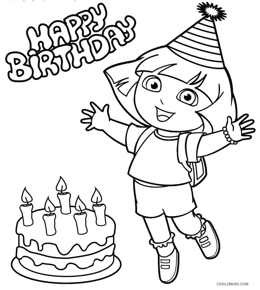 dora to color free printable dora coloring pages for kids cool2bkids color dora to