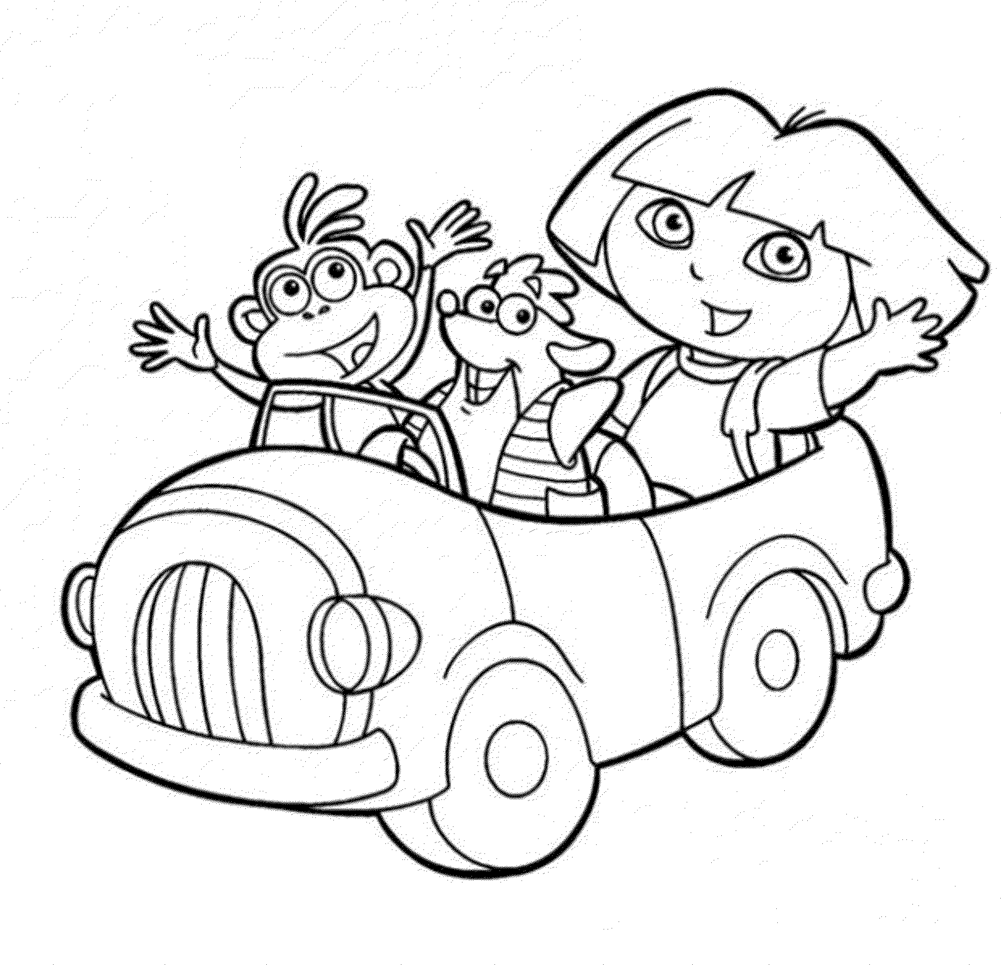 dora to color print download dora coloring pages to learn new things to color dora