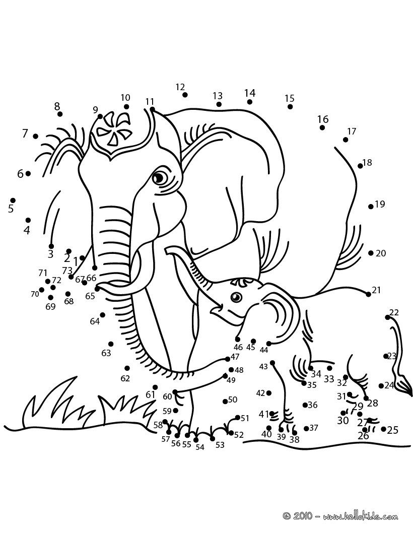 dot to dot printables elephant dot to dot page woo jr kids activities to dot dot printables