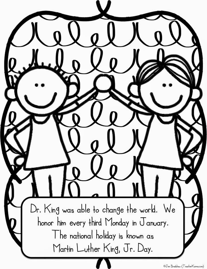 dr king coloring pages printable classroom freebies too let39s celebrate dr king freebie coloring king dr pages printable