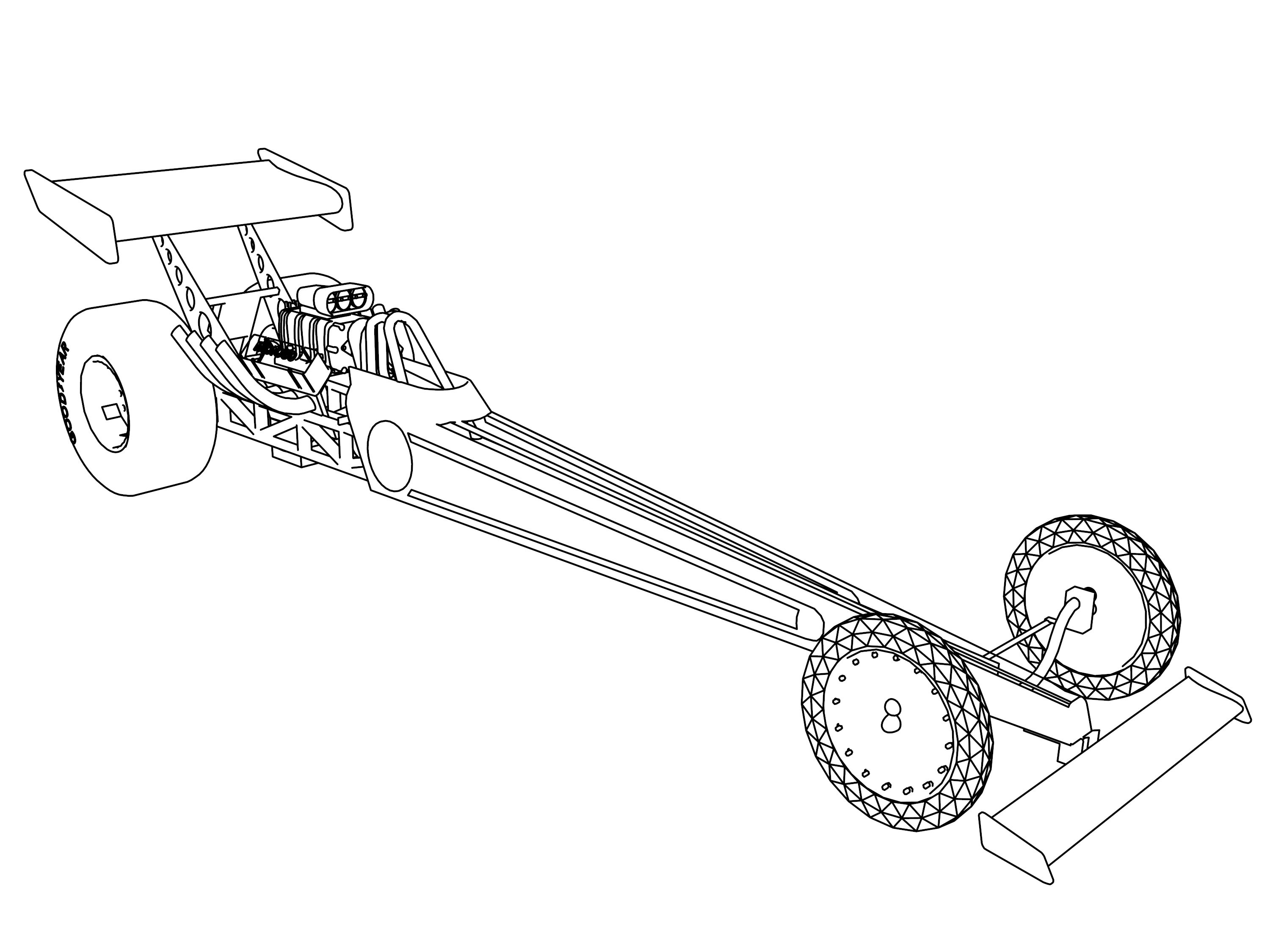 drag car coloring pages coloring pages funny cars coloring home coloring car pages drag