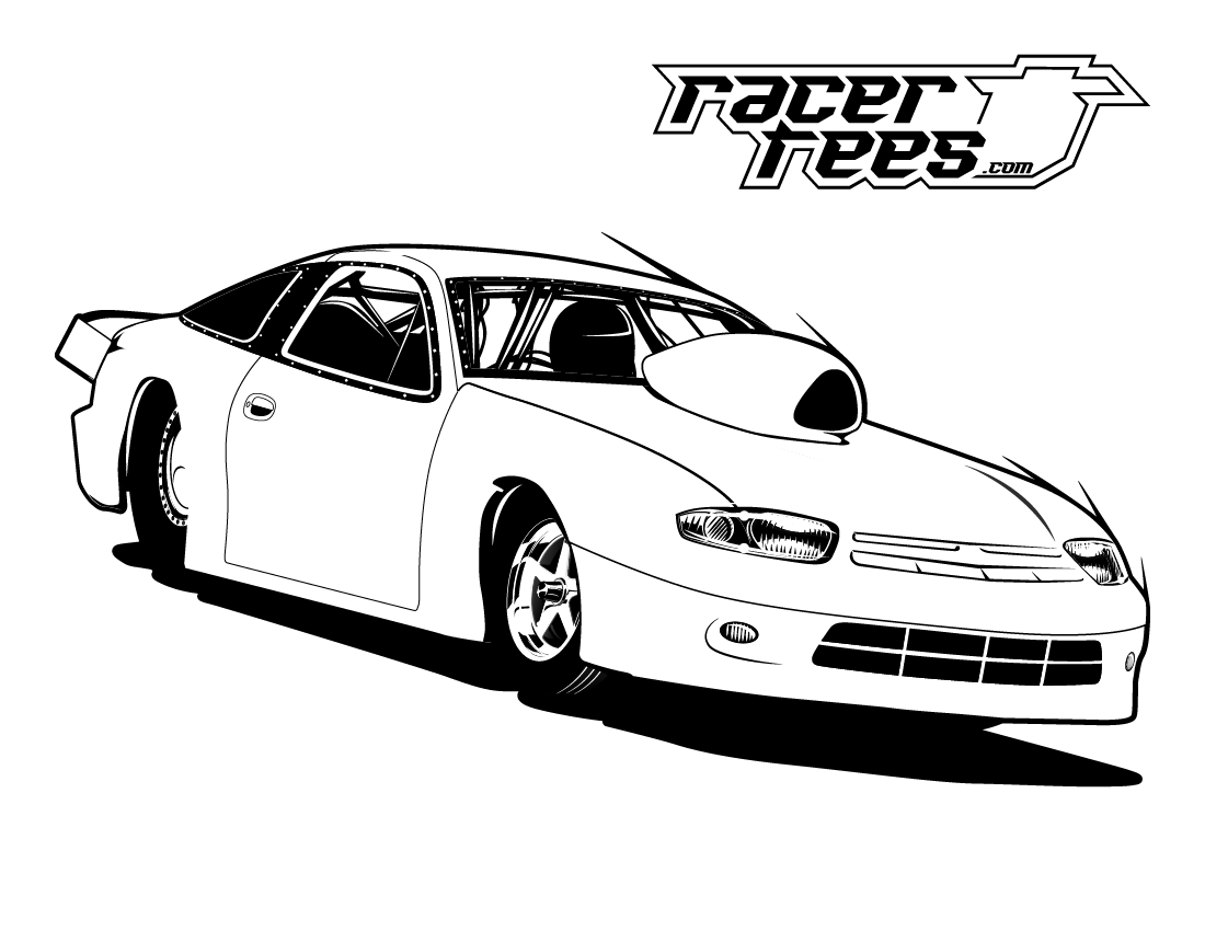 drag car coloring pages drag racing coloring pages at getcoloringscom free coloring drag car pages