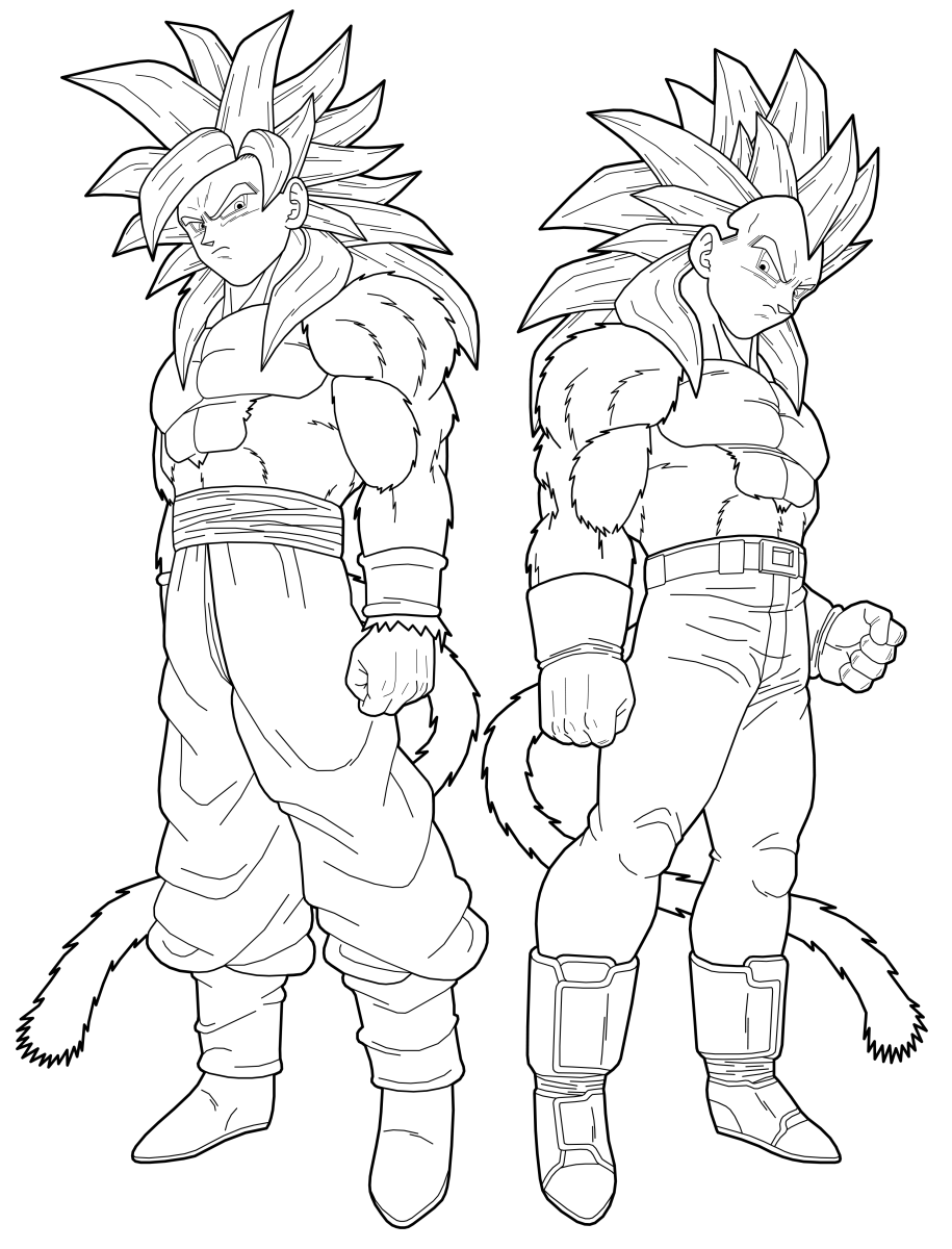 dragon ball coloring pictures dragon ball z coloring pages vegeta and goku coloring home ball dragon coloring pictures