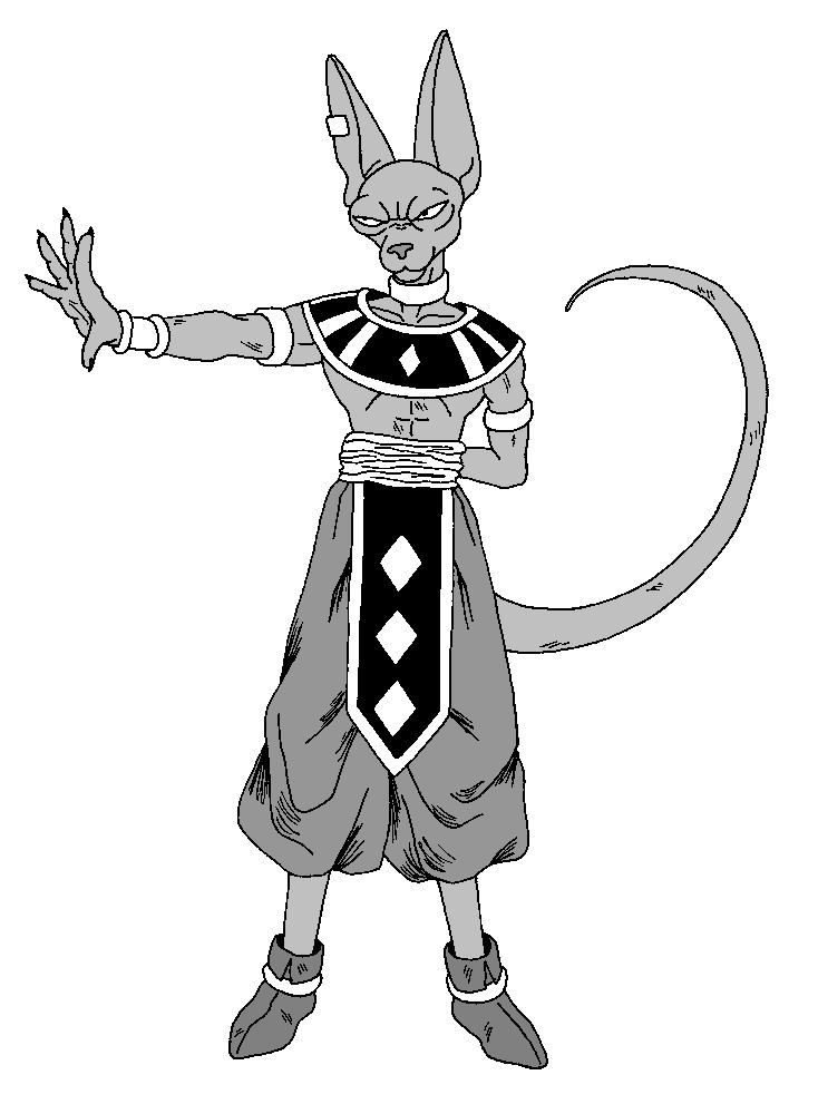 dragon ball z beerus coloring pages beerus dragon ball z coloring pages lord sketch coloring page pages coloring ball dragon z beerus