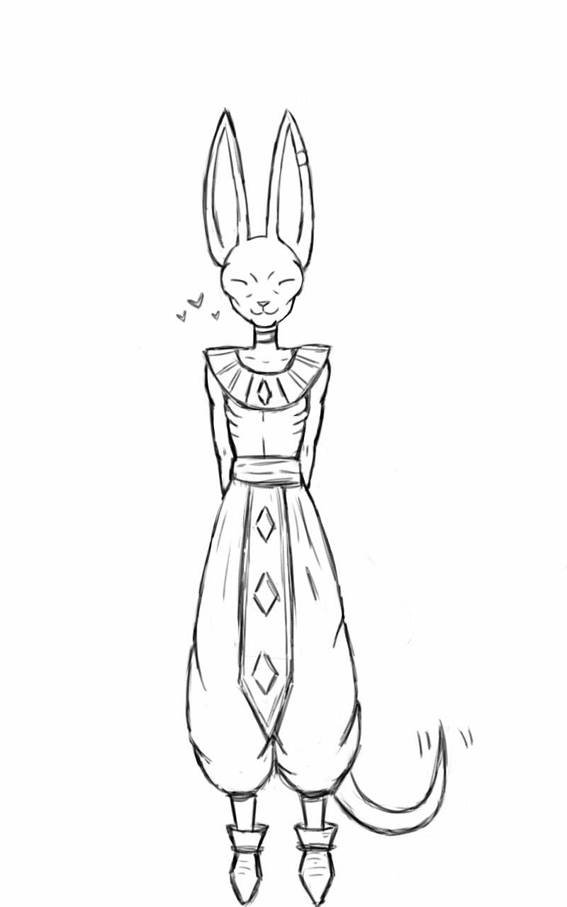 dragon ball z beerus coloring pages dragon ball super beerus pages coloring pages beerus z coloring ball pages dragon