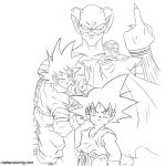 dragon ball z beerus coloring pages lord beerus dibujos bocetos dragones ball beerus coloring pages z dragon