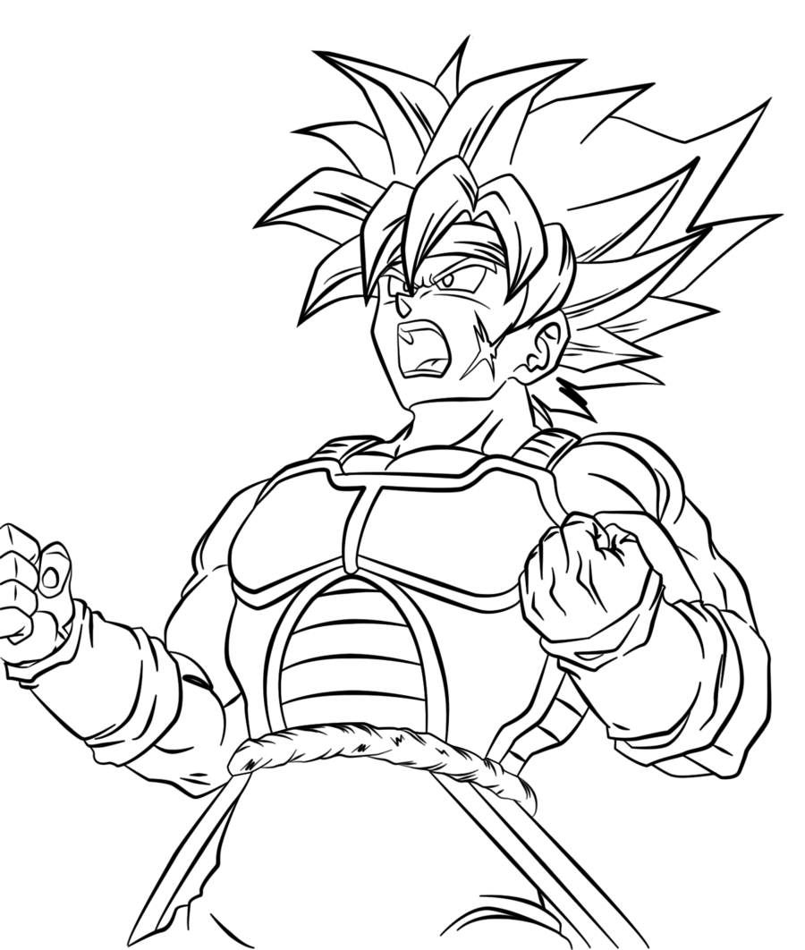 dragon ball z color dbz coloring pages goku at getcoloringscom free ball dragon color z