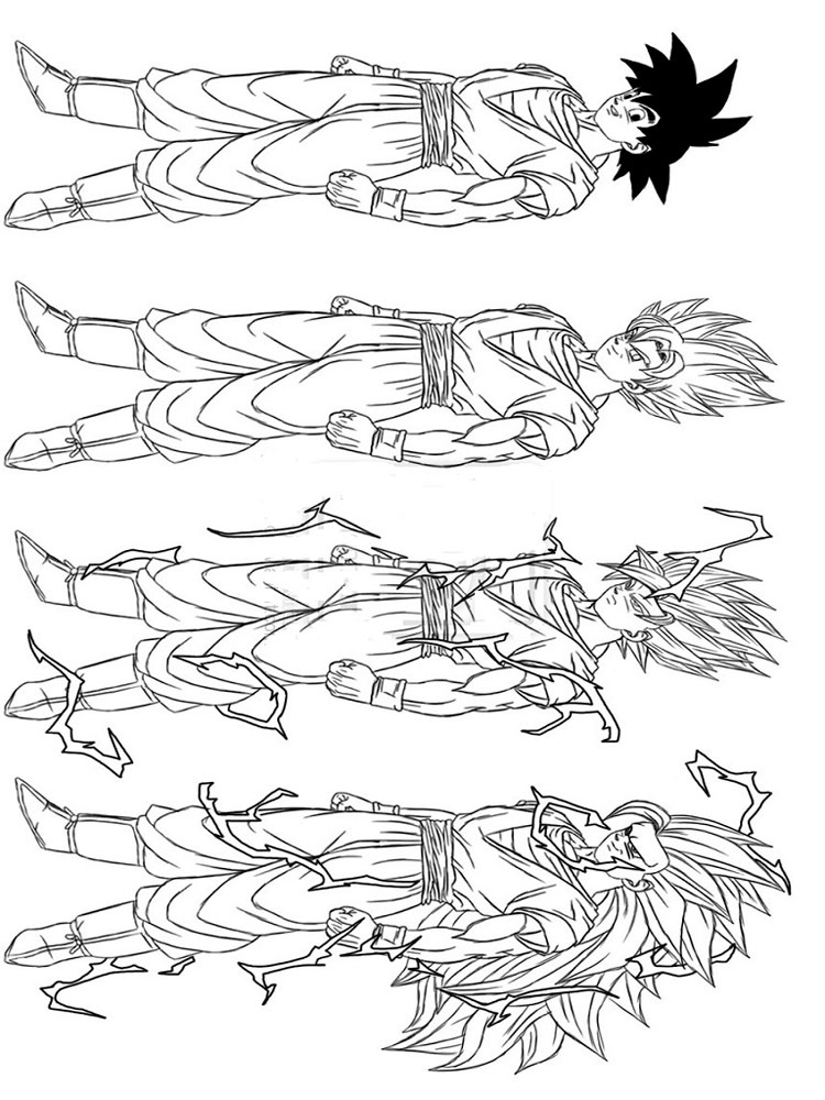 dragon ball z color dragon ball z coloring pages download and print dragon z dragon color ball