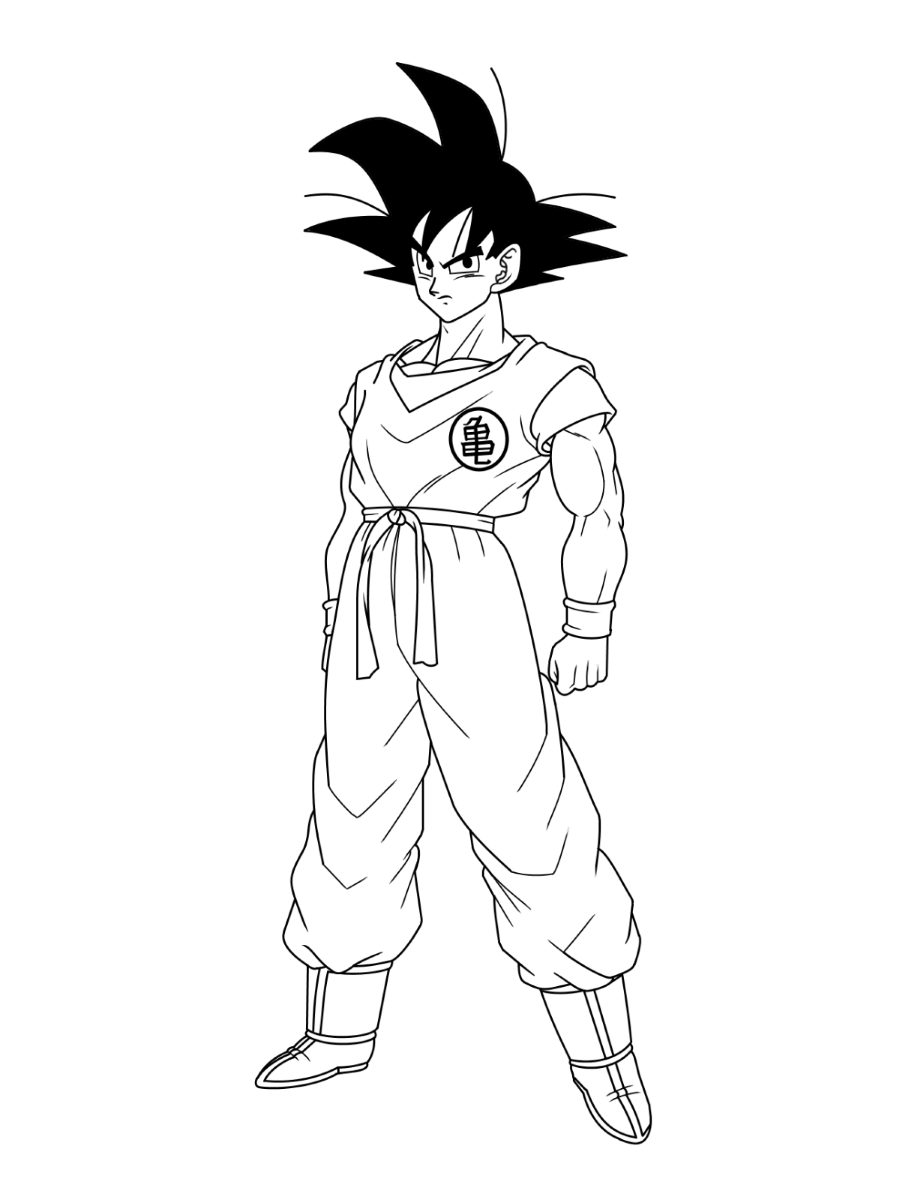 dragon ball z color dragon ball z coloring pages learny kids color ball dragon z