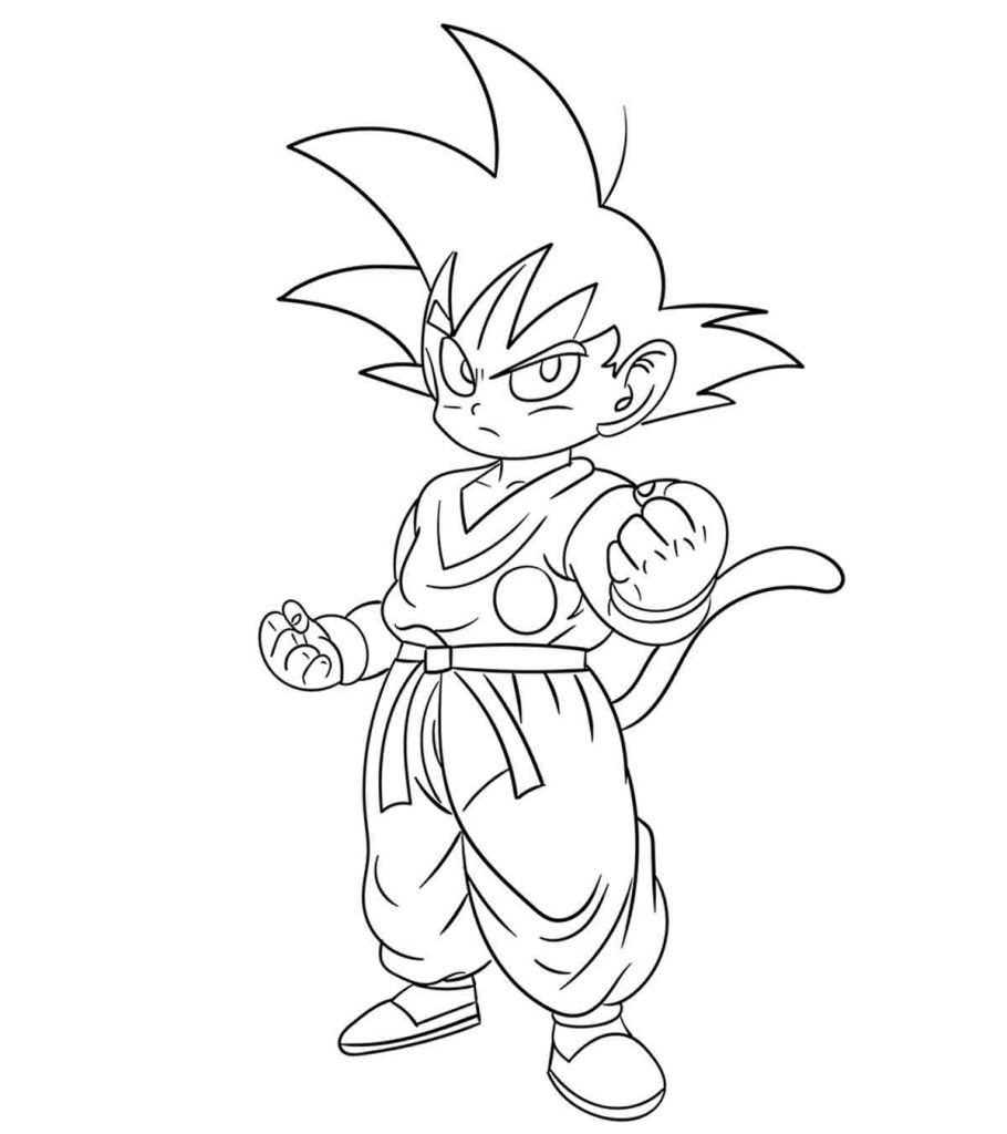 dragon ball z color dragon ball z coloring pages printable that are canny color dragon ball z