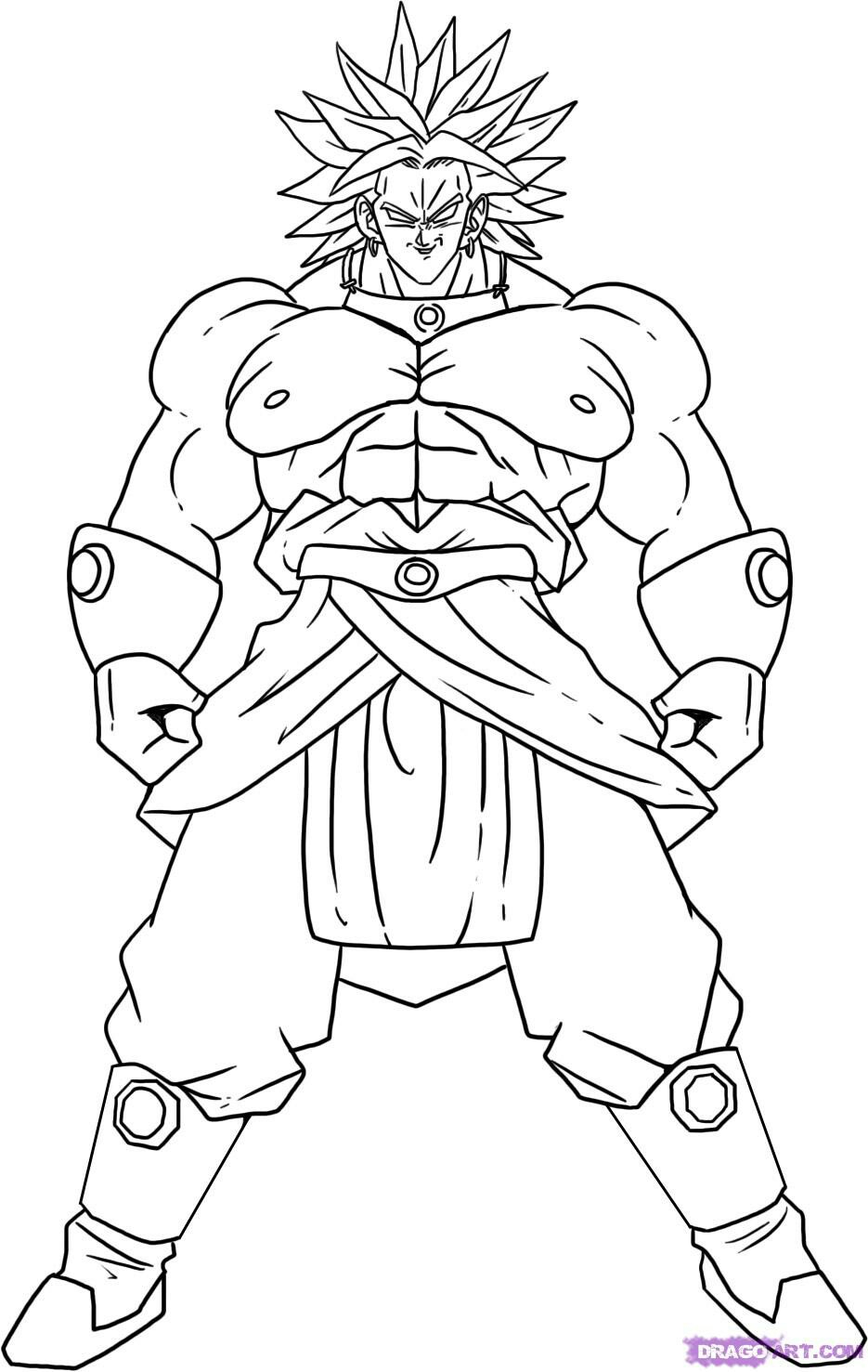 dragon ball z color hachiyake dbz free coloring pages z color dragon ball