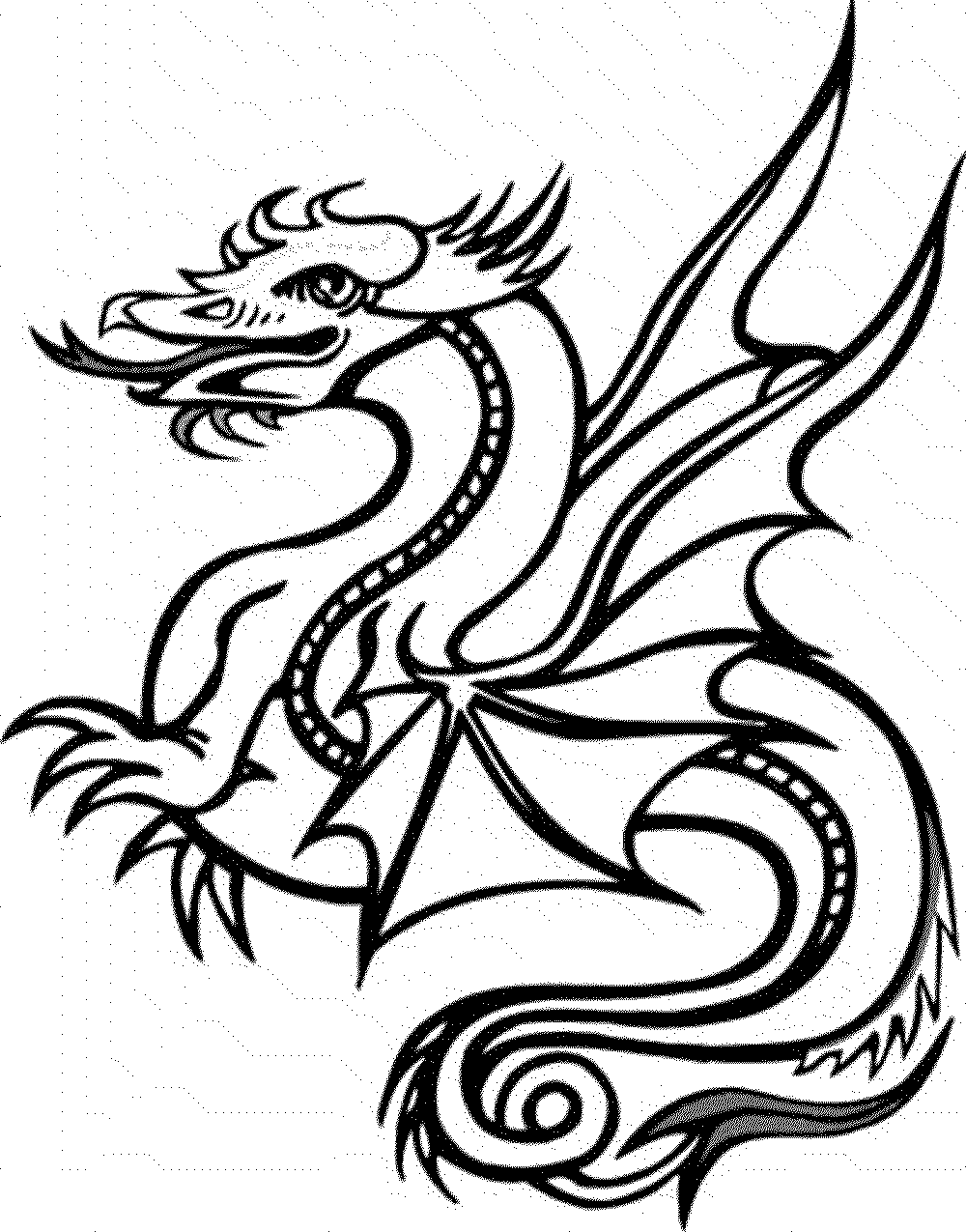 dragon pics to color 20 free printable dragon coloring pages for adults pics to color dragon