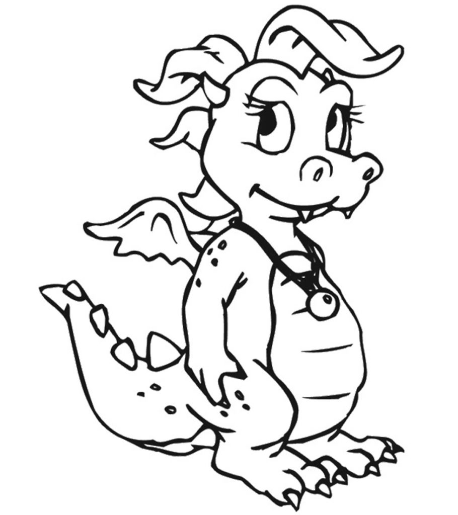 dragon to color detailed dragon coloring pages coloring home dragon to color