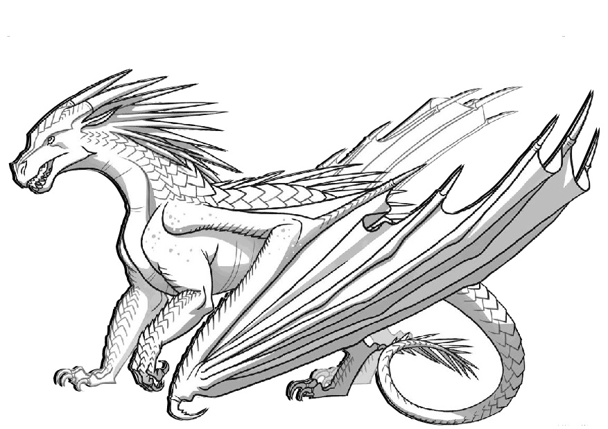 dragon to color dragon coloring pages printable activity shelter dragon color to