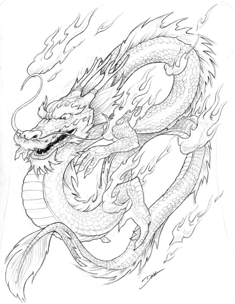 dragon to color free printable chinese dragon coloring pages for kids to dragon color 1 2