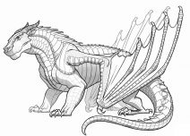 dragon to color giant dragon dragons adult coloring pages dragon to color