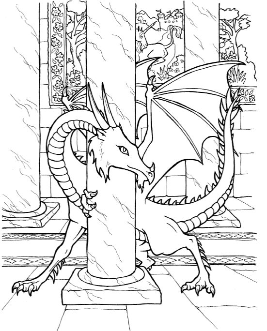 dragons 3 coloring pages hydra three headed dragon coloring pages print 3 pages coloring dragons