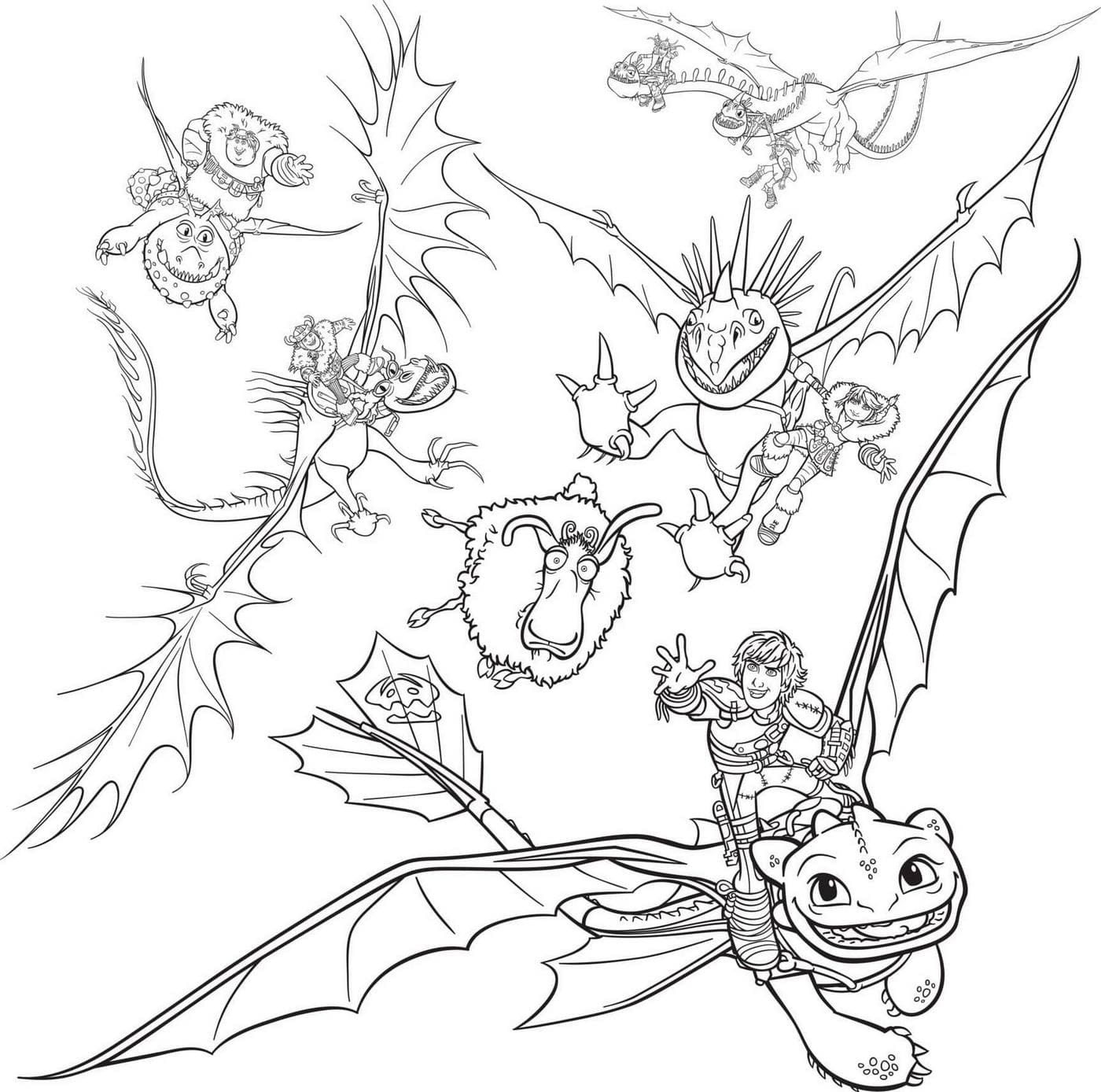 dragons 3 coloring pages night fury dragon coloring page free printable coloring dragons pages 3 coloring