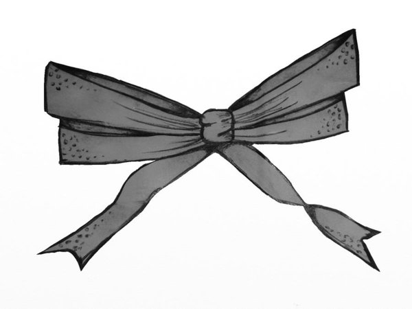 draw a bow christmas bow drawing free download on clipartmag draw a bow