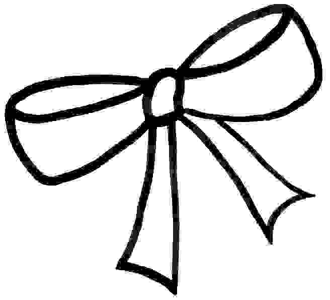 draw a bow free bow outline cliparts download free clip art free bow draw a