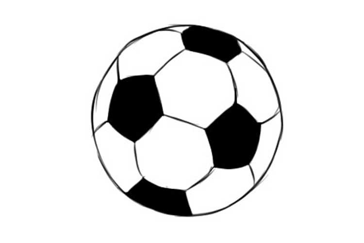 draw a football 4 ways how to draw a soccer ball and football step by step a draw football