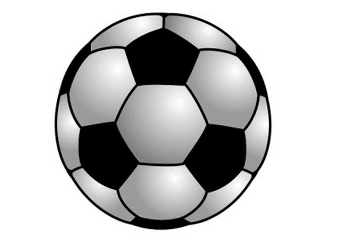 draw a football 4 ways how to draw a soccer ball and football step by step a football draw