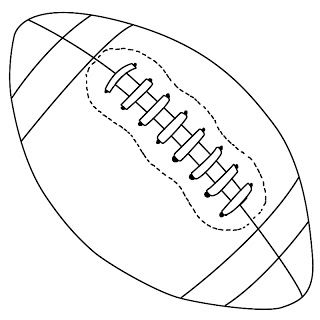 draw a football how to draw a football tutorials shape and couple a football draw