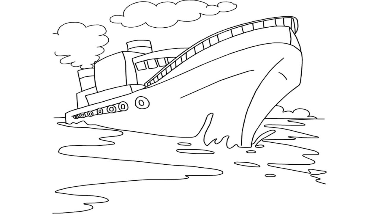 draw a ship step by step cruise ship drawing ii how draw a cruise ship easily step step by step ship draw a