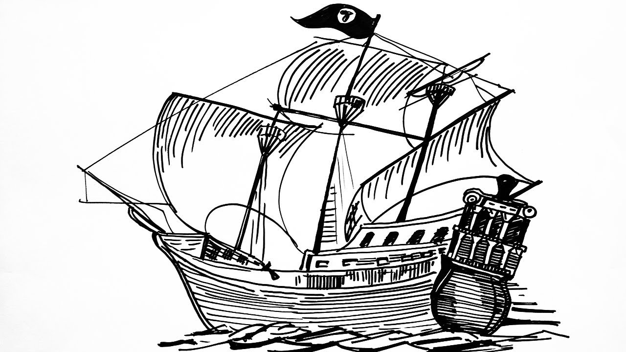 draw a ship step by step how to draw a sailing boat step by step drawing a ship by draw step step ship a