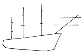 draw a ship step by step how to draw a sailing ship draw step by step step ship a by draw step