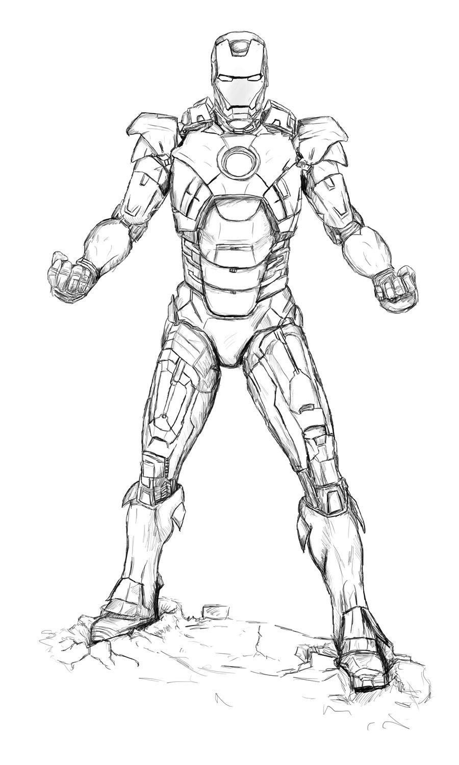 draw iron man step by step how to draw iron man in 2 options easy and simple iron draw step by step man