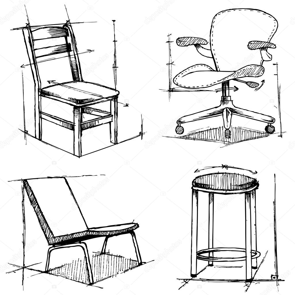 drawing chair 8 vintage antique chair drawing png transparent drawing chair