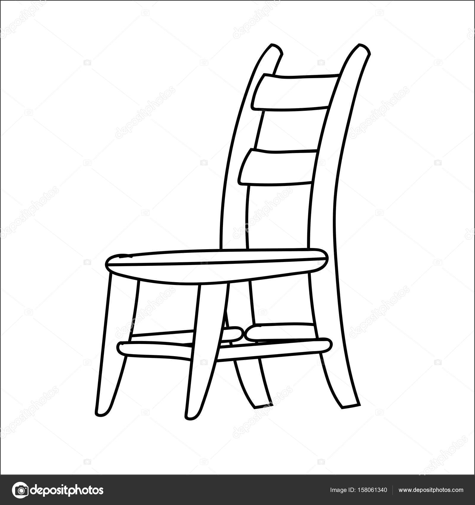 drawing chair chair line art free clip art drawing chair