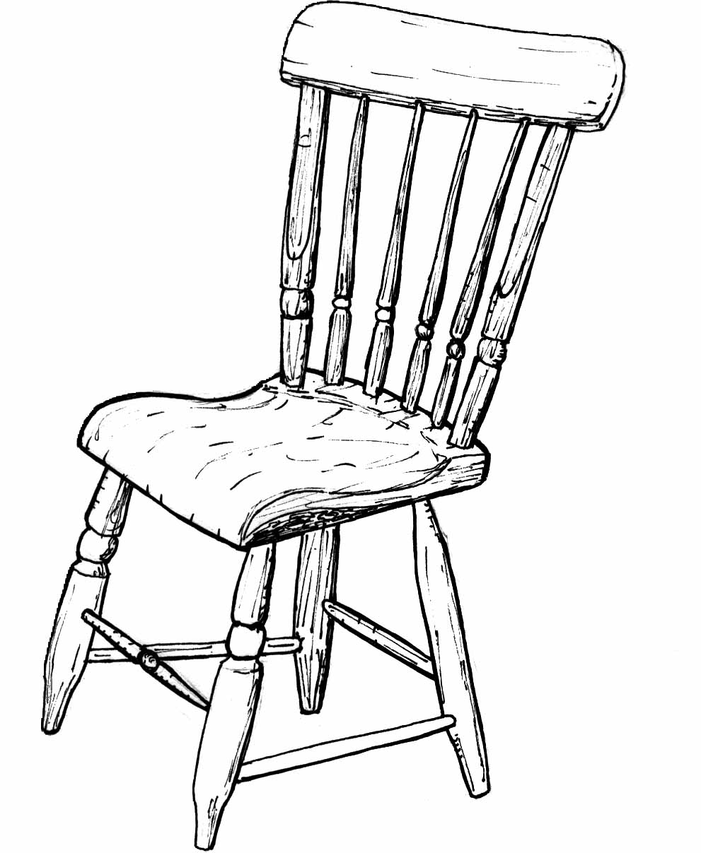 drawing chair traditional chair illustrations royalty free vector chair drawing