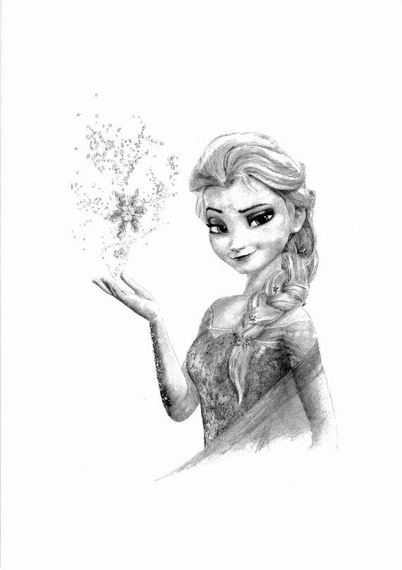 drawing frozen my drawing of elsa from frozen drawings sketches artwork drawing frozen