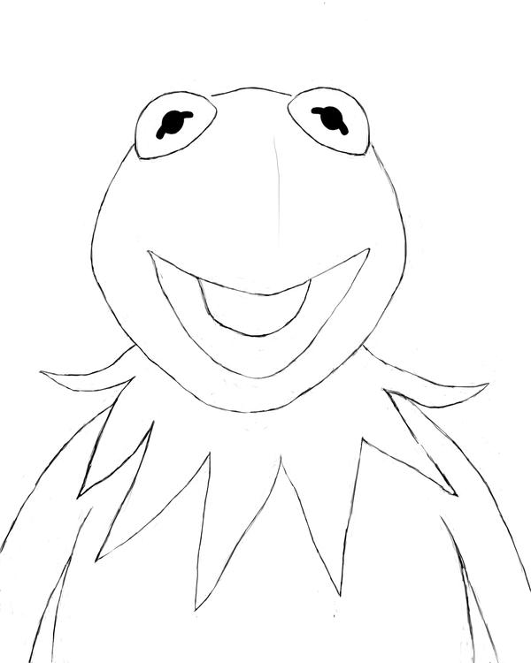drawing kermit the frog kermit the frog drawing at getdrawings free download kermit frog the drawing