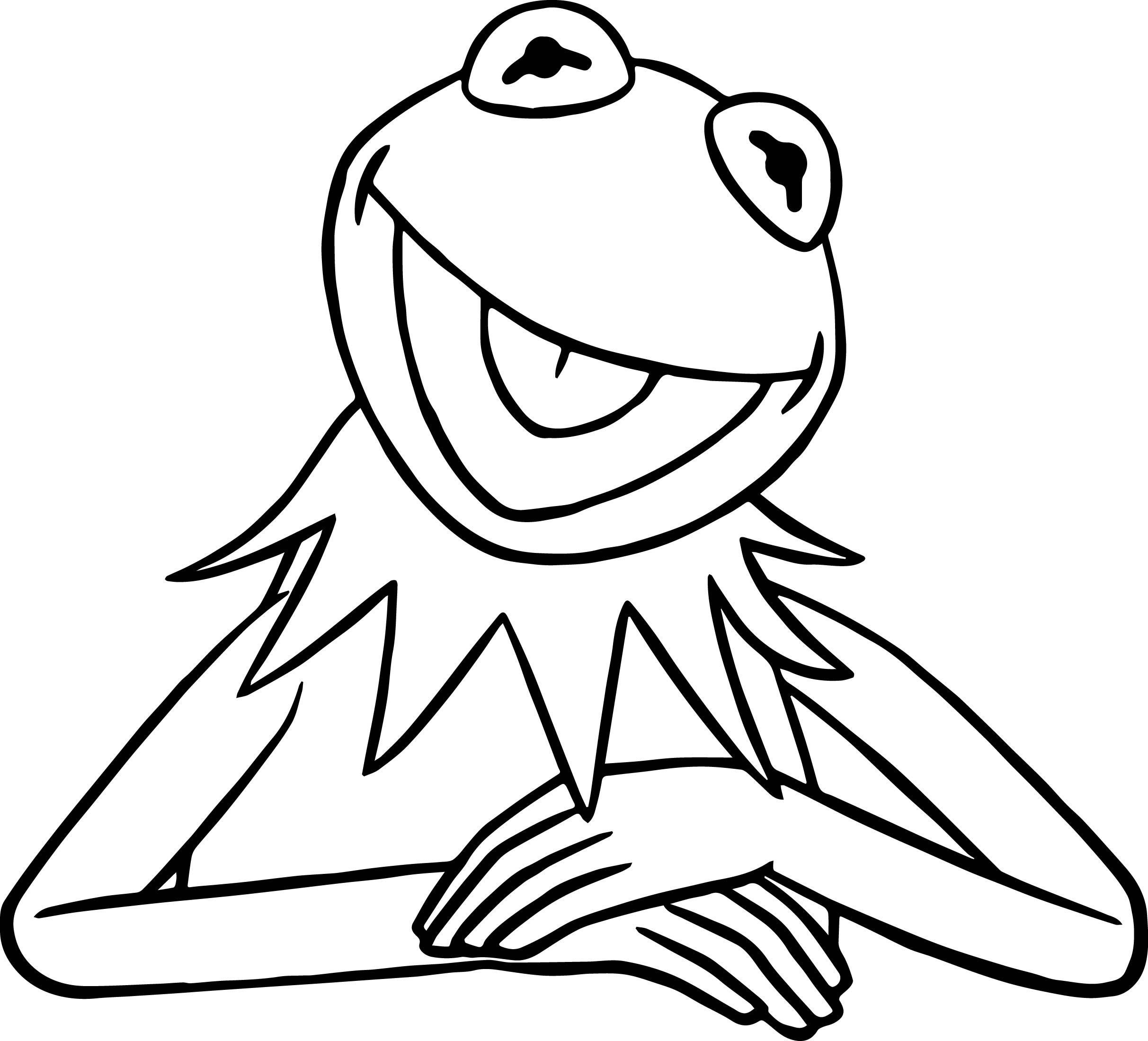 drawing kermit the frog kermit the frog drawings step by step smithcoreview the drawing kermit frog