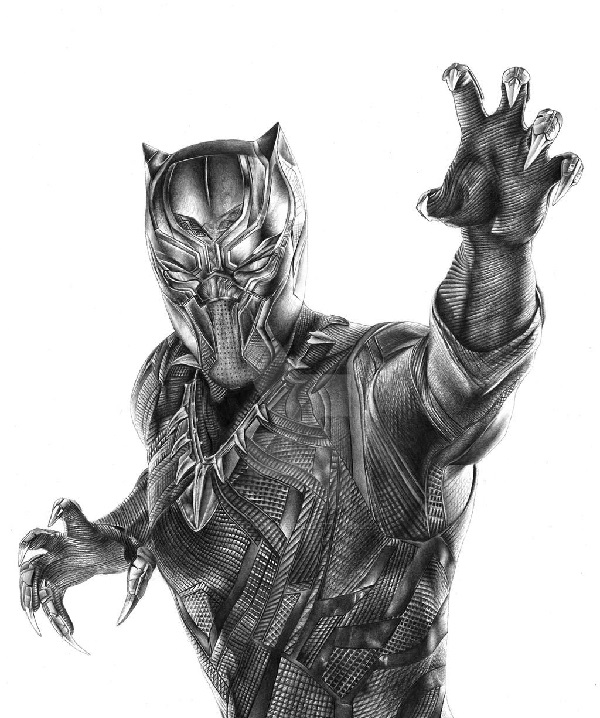 drawing of a black panther a step by step guide to draw a black panther drawing in 15 black a drawing of panther