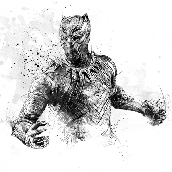 drawing of a black panther a step by step guide to draw a black panther drawing in 15 of panther a drawing black