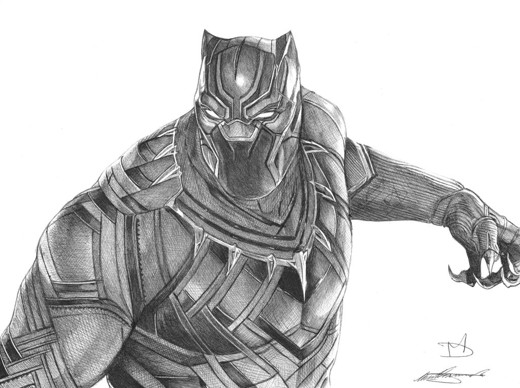 drawing of a black panther black panther ballpoint pen drawing by demoose21 on deviantart drawing panther of black a